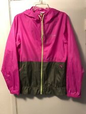 COLUMBIA LADIES RAIN / WINDBREAKER JACKET W/HOOD  SIZE M  EX/CON