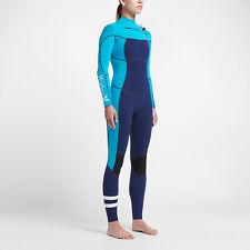 Hurley Phantom 202 Fullsuit Women's Wetsuit  14 Blue New