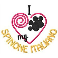 I Heart My Spinone Italiano Ladies Short-Sleeved T-Shirt 1370-2 Size S - Xxl