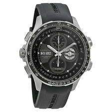 Hamilton Khaki X-Wind Automatic Black Dial Black Rubber Mens Watch H77766331
