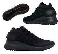 super popular 33105 0b7c0 Adidas Originals Tubular Nova Primeknit Mens Trainers Lace Up Black S80109  D117