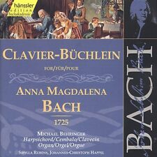 Michael Behringer, J - Clavier Book for Anna Magdalena Bach 1725 [New CD]