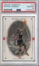 1998/99 SP Authentic Michael Jordan #10 PSA 10