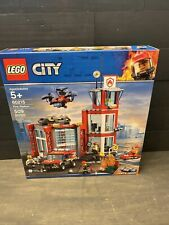 LEGO City Fire Station (60215) New in Sealed Box