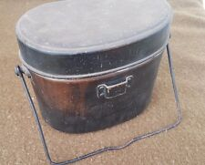 WWII Japanese Army/Navy Mess Kit Rice Cooker - Great Markings