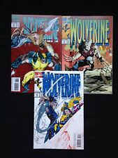1993-94 MARVEL WOLVERINE #76 #77 #78 THREE BOOK LOT HIGH GRADE