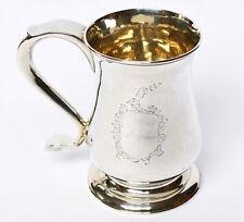 George III Mug 925 Sterling Silver 316,84 G Newcastle 1779 LANGLANDS & ROBERTSON