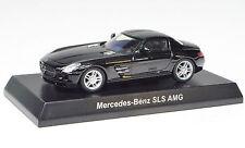 Mercedes-Benz AMG SLS noir 1:64 de kyosho