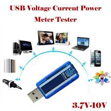 3.7V-10V 0-3A USB Voltage Current Power Detector Battery Capacity Tester Meter