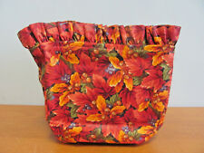 New Longaberger Fall Foliage 6.5 Inch Square Liner For Square Basket 29432