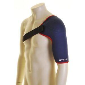 Vulkan 3092 Sports Shoulder Support Brace Strap Pain Relief Neoprene Injury Gym