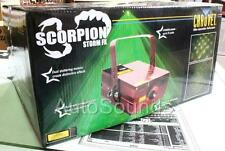 NEW Chauvet SCORPION STORM FX DJ Pro DMX-512 Controlled Laser Light Beam Effects