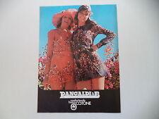 advertising Pubblicità 1972 PANCALDI & B