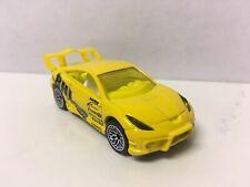 Hot Wheels CUSTOM W/REAL RIDERS Yellow Toyota Celica