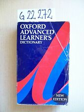OXFORD ADVANCED LEARNER'S DICTIONARY - OXFORD UNIVERSITY PRESS - 1990