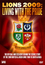 DVD:THE LIONS 09 - SOUTH AFRICA: LIVING WITH THE PRIDE - NEW Region 2 UK