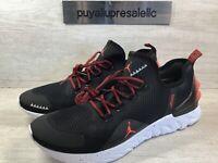 Men's Jordan React Havoc Training Shoes. Black/Bright Crimson AR8815-006 Size 12