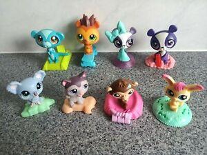 McDonalds LPS Promotional Toys ~ Littlest Pet Shop ~ lot of 8 all in VGC! ~ L3