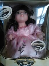 """Collectible Memories - Porcelain Doll """"Madison"""" Animated Musical Wind-Up Doll"""