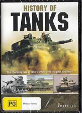 HISTORY OF TANKS - NEW REGION 4 DVD FREE LOCAL POST