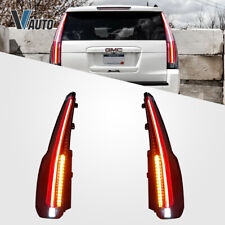 For GMC Yukon XL DENALI 2015-2019 Fit Taillights Led Rear Lamps Light Modified