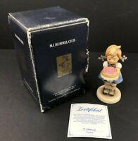 "Hummel Goebel 1988 Sweet As Can Be 4"" Figurine TMK-7 Hummel Club Edition, in Box"