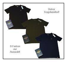 Aeronautica Militare T-Shirt Herren Basic Shirt  M-2XL Black Blue Green  NEU