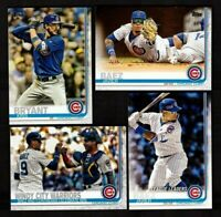 2019 Topps Series 1 2 & Update CHICAGO CUBS Team Set 35 Cards