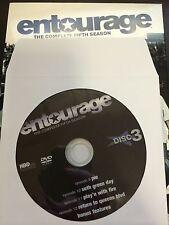 Entourage – Season 5, Disc 3 REPLACEMENT DISC (not full season)