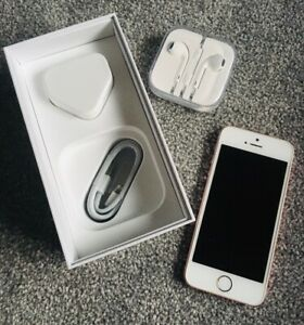 Apple iPhone SE - 16GB - Rose Gold (Unlocked) A1723 Excellent Condition