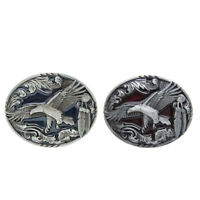 Western Vintage Flying Eagle Cowboy CowGirl Belt Buckle Metal Belt Buckle
