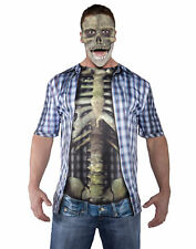 Skull Mask Adult Male Halloween Costume Accessories - One Size
