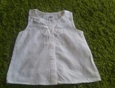 Zara Baby Mädchen top T-shirt gr 86 weiß w neu