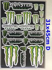 New Monster Energy Stickers Motorcycle Dirt Bike ATV Decals Car Motorised Bike D