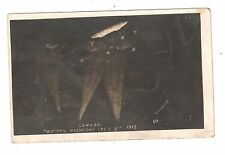 RP MILITARY WWI ZEPPLIN ZEP over London WEDNESDAY SEP 8TH 1915 UNUSED