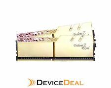 G.Skill Trident Z Royal RGB 16GB (2x 8GB) DDR4 CL16 3000MHz Memory - Gold