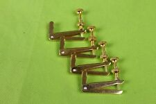4pcs 4/4 3/4 Golden Cello fine tuner fiddle string adjuster accessories