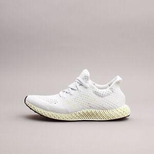 Adidas Running 4D Futurecraft Chalk White workout gym New Men Shoes Rare Q46229