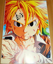 Poster A3 Nanatsu No Taizai Seven Deadly Sins Meliodas Manga Anime Cartel