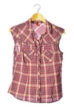 Karierte H&M Damenblusen, - tops & -shirts