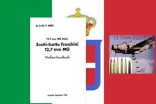 Avión italiano Manual Alemán Luftwaffe 12.7mm mg Plus munición Segunda Guerra Mundial conchas, FUZES
