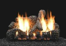 "Empire Comfort Systems Charred Oak 18"" Ceramic Fiber 4 Piece Log Set- Logs Only"