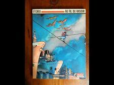 O'GROJ Au fil du rasoir, Casterman 1993 Edition originale NEUF cote 18€