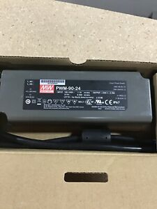 Meanwell Power Supply PWM-90-24 100-240V New BCE