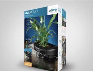 Elive Aquaduo 20 Gal Aquarium Fish Tank Filter 114 GPH Hydrocorn Aquaponics