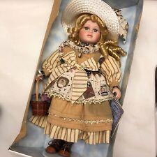 Vintage Samantha Limited Edition Porcelain Doll By Samantha Medici   New in Box