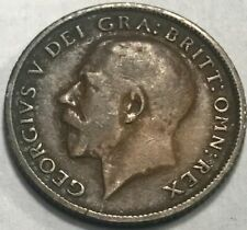 GREAT BRITAIN - George V - Silver Sixpence 1914 - KM-815 - Original Surfaces!