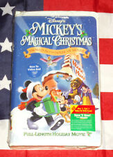 NEW Mickey's Magical Christmas (VHS, 2001) Snowed In at the House of Mouse Rare