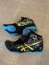 Asics Boy's Youth Wrestling Shoes Multi Color Size 8 Used For One Season