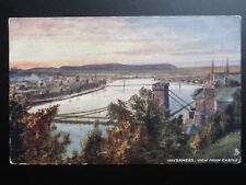 Scotland: Inverness, View from Castle - Pub by Raphael Tuck No.7187